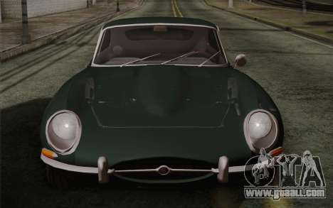 Jaguar E-Type 4.2 for GTA San Andreas interior