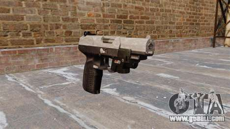Gun FN Five seveN LAM ACU Camo for GTA 4
