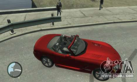 Dodge Viper SRT-10 2003 v2.0 for GTA 4 inner view