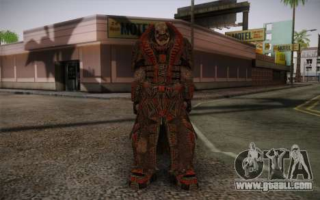 Theron Guard Cloth From Gears of War 3 v1 for GTA San Andreas