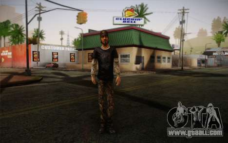 Nick из The Walking Dead for GTA San Andreas