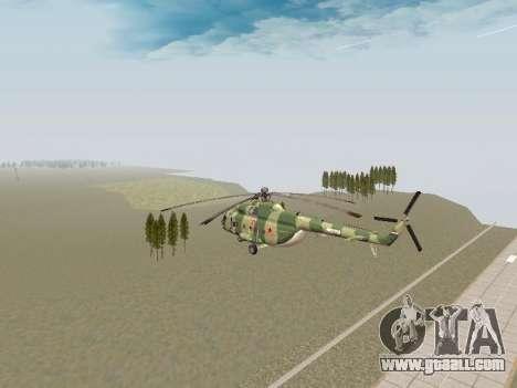 Mi-8T for GTA San Andreas right view