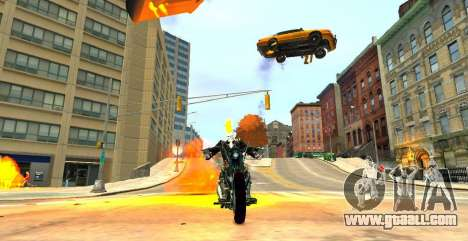Ghost Rider for GTA 4 second screenshot