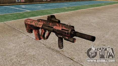 Автомат Steyr AUG-A3 Optic Red tiger for GTA 4