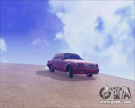 GAZ 31105 Tuneable for GTA San Andreas