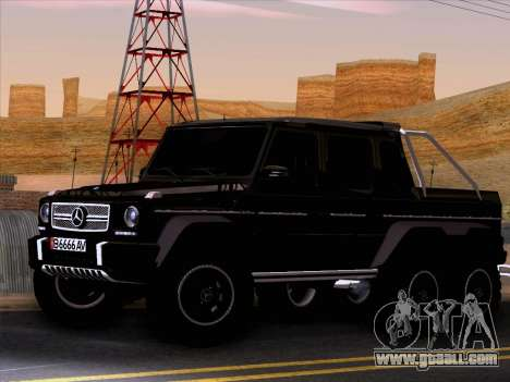 Mercedes-Benz G65 AMG 6X6 for GTA San Andreas left view