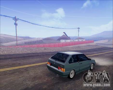 VAZ 2112 Tuneable for GTA San Andreas right view