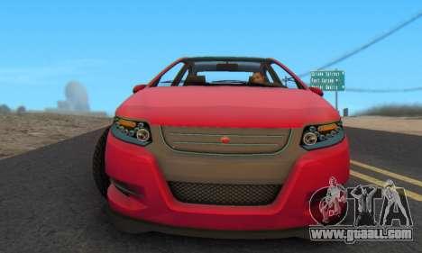 Cheval Surge V1.0 for GTA San Andreas