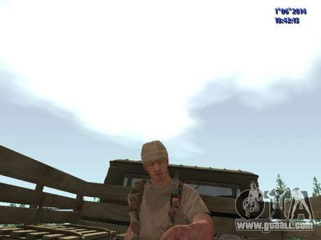 Afghanistan Soviet Soldiers for GTA San Andreas fifth screenshot