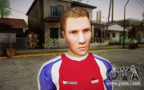 Footballer for GTA San Andreas third screenshot