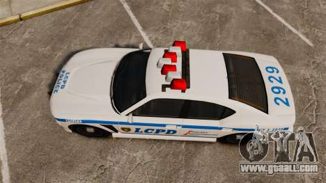 GTA V Bravado Buffalo LCPD for GTA 4 right view
