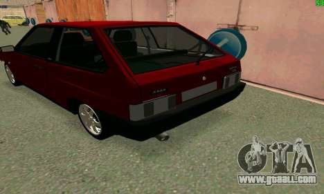 VAZ 2108 Turbo for GTA San Andreas back view
