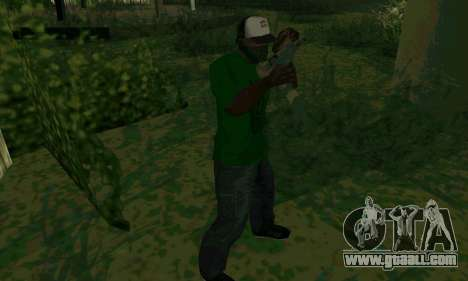 New features of weapons for GTA San Andreas fifth screenshot