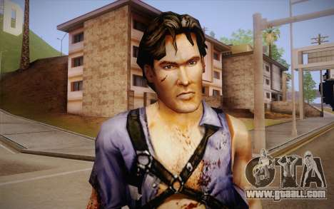 Ash Williams из Evil Dead Regeneration for GTA San Andreas third screenshot