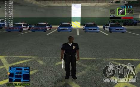 C-HUD by SampHack v.2 for GTA San Andreas