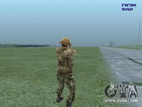 The airborne soldier of the USSR for GTA San Andreas forth screenshot