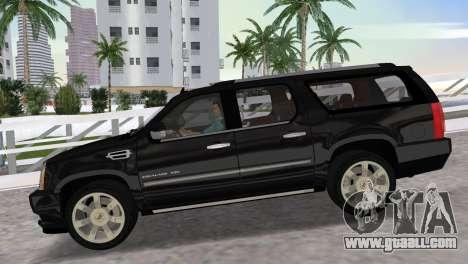 Cadillac Escalade ESV Luxury 2012 for GTA Vice City right view