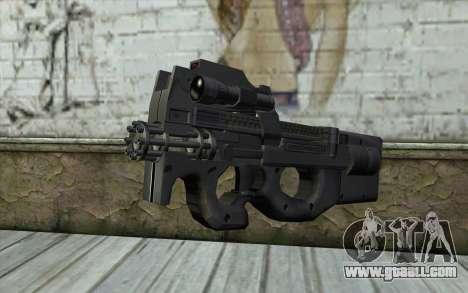 FN P90 MkII for GTA San Andreas