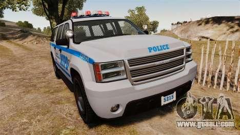 GTA V Declasse Granger NYPD for GTA 4
