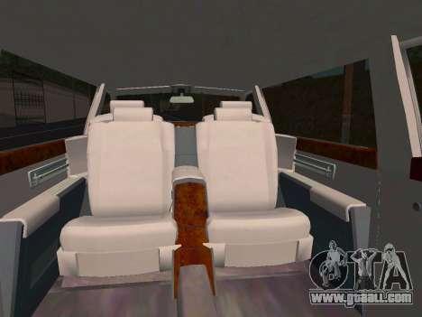 Rolls-Royce Phantom Limo for GTA San Andreas side view