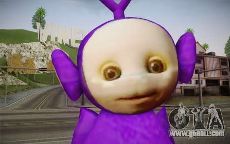 Kicks-Winky (Teletubbies) for GTA San Andreas third screenshot