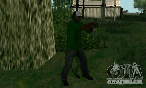 New features of weapons for GTA San Andreas forth screenshot