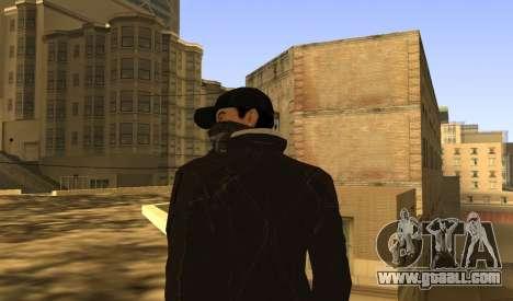 New Aiden Pearce for GTA San Andreas sixth screenshot