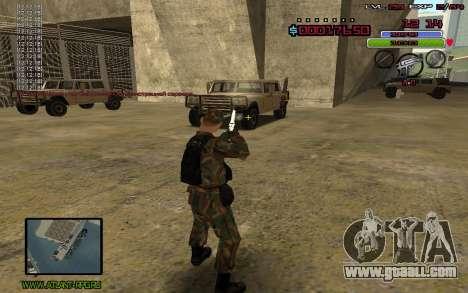 C-HUD by Mr.Bim for GTA San Andreas