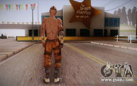 Gangster from Borderlands 2 for GTA San Andreas second screenshot