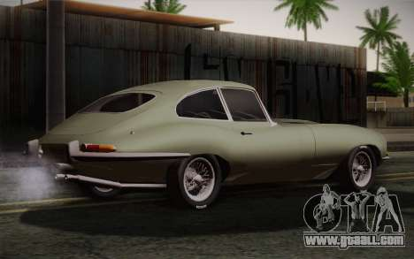 Jaguar E-Type 4.2 for GTA San Andreas left view