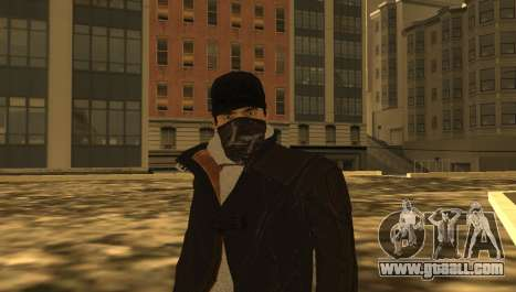 New Aiden Pearce for GTA San Andreas fifth screenshot