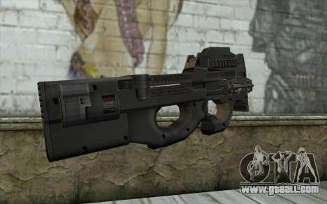 FN P90 MkII for GTA San Andreas second screenshot