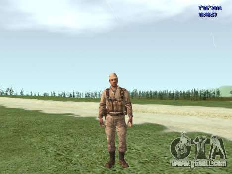 Afghanistan Soviet Soldiers for GTA San Andreas seventh screenshot
