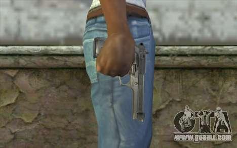 Police Beretta 92 for GTA San Andreas third screenshot