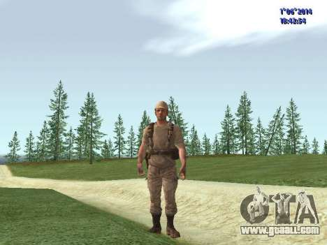 Afghanistan Soviet Soldiers for GTA San Andreas