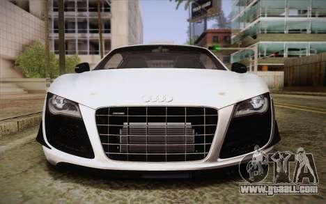 Audi R8 GT 2012 for GTA San Andreas side view