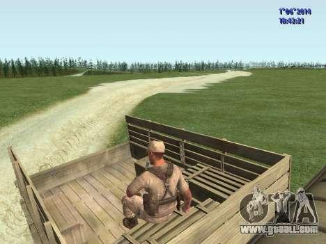 Afghanistan Soviet Soldiers for GTA San Andreas sixth screenshot