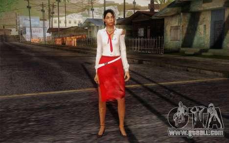 Xian Mei from Dead Island for GTA San Andreas