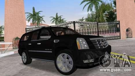 Cadillac Escalade ESV Luxury 2012 for GTA Vice City