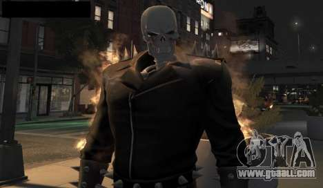 Ghost Rider for GTA 4 fifth screenshot