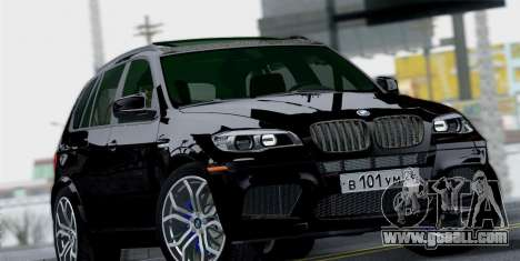 BMW X5M 2013 for GTA San Andreas right view