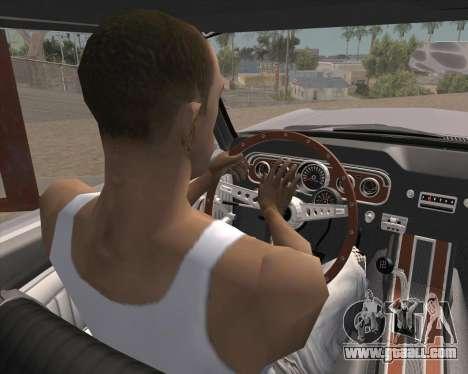 Animation pressing signal for GTA San Andreas