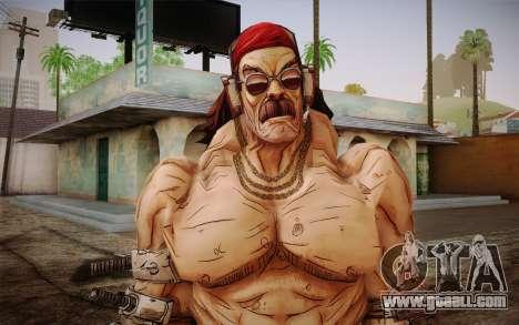 Mr. Torgue из Borderlands 2 for GTA San Andreas