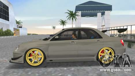 Subaru Impreza WRX STI 2005 for GTA Vice City back left view
