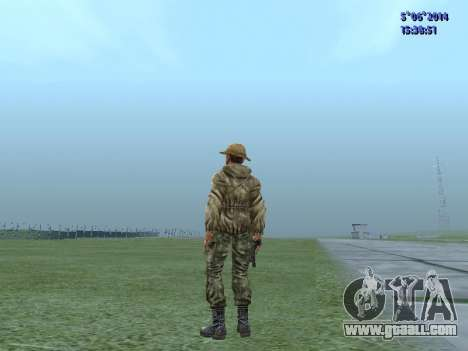 The airborne soldier of the USSR for GTA San Andreas second screenshot