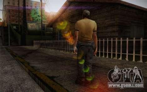 Ellis from Left 4 Dead 2 for GTA San Andreas second screenshot