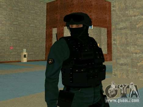Skin SOBR for GTA San Andreas third screenshot