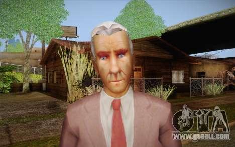 Leslie William Nielsen for GTA San Andreas third screenshot