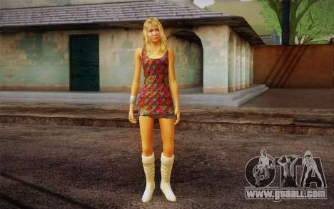 Hannah Montana for GTA San Andreas