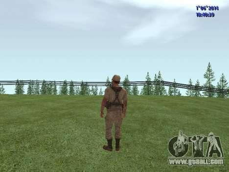 Afghanistan Soviet Soldiers for GTA San Andreas third screenshot